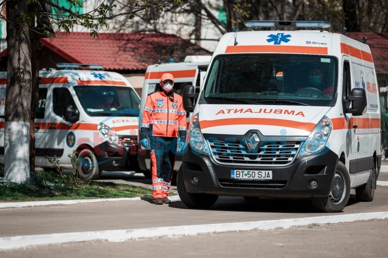 Botoșani, azi: 114 cazuri de infectare cu Covid-19