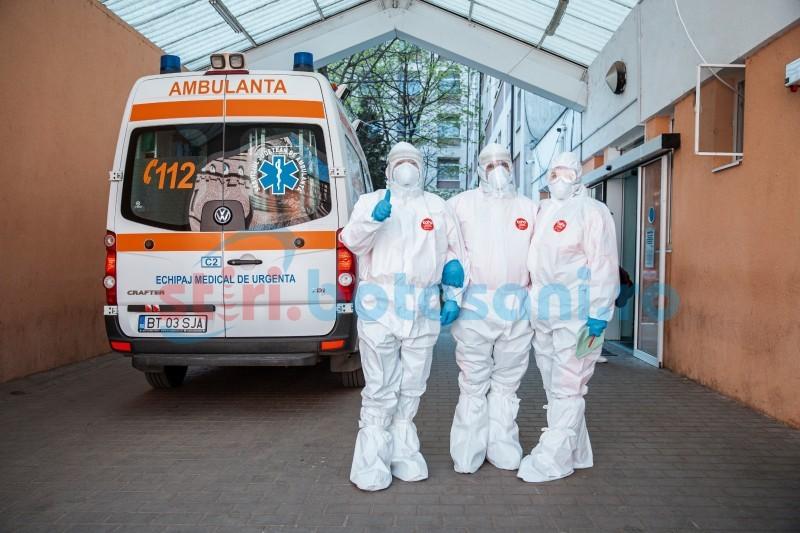 Botoșani: Bilanțul infectărilor cu COVID a mai crescut cu un caz, în ultimele 24 de ore. Care este situația în România