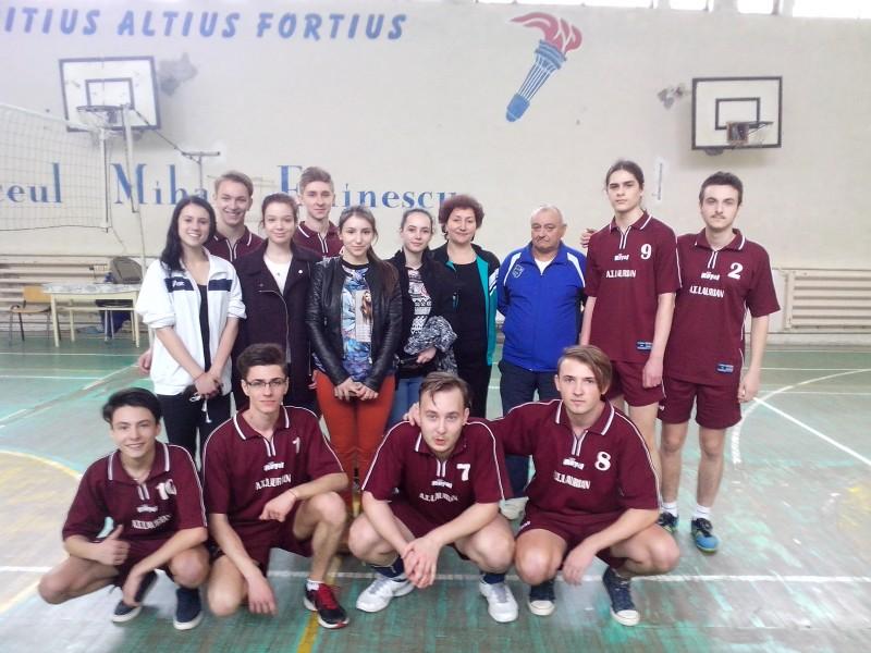 Botoşani: Câștigătorii competiției județene a Olimpiadei Naționale a Sportului Școlar la Volei- Licee