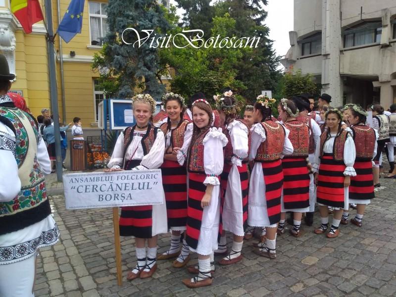 Botoșani, în sărbătoare folclorică
