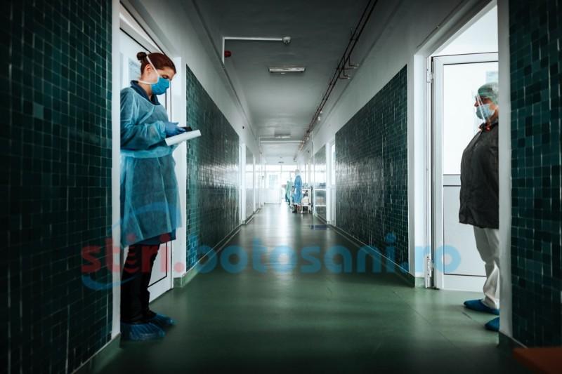 Botoșani: Încă 44 de persoane infectate. Bilanțul deceselor a crescut la 12