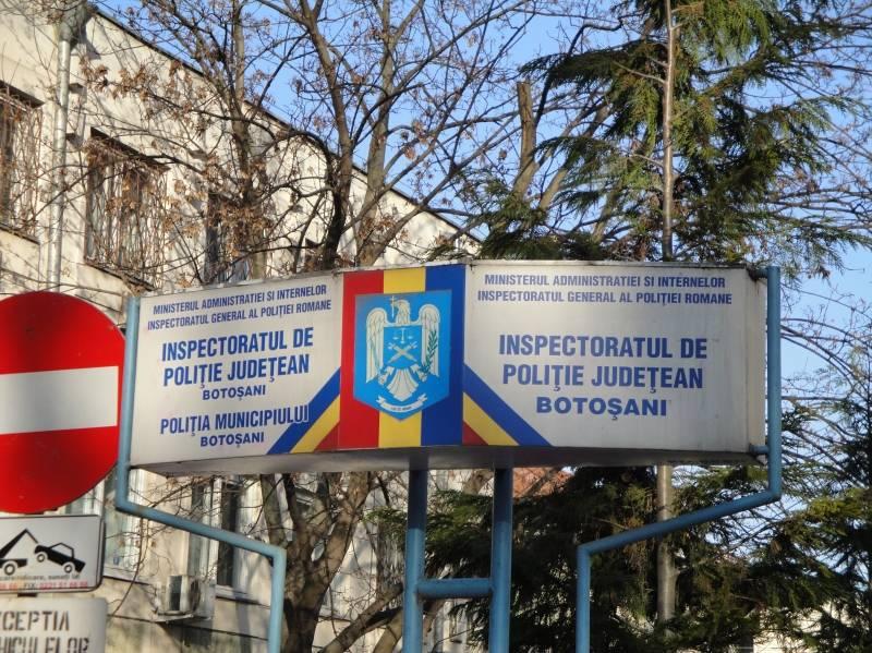 Botoşani: Poliţiştii fug din sistem din cauza modificărilor legii pensiilor