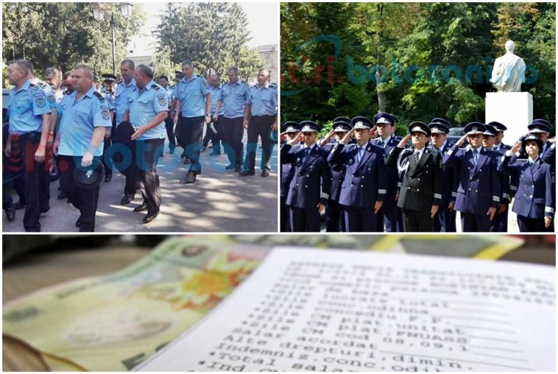 Botoşani: Poliţiştii locali versus poliţiştii naţionali: cum îşi merită salariile de care beneficiază