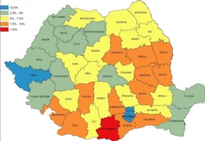 Botoșani, printre cele mai sărace trei județe din țară, NU este un județ de asistați social. CINE ocupă primul loc!