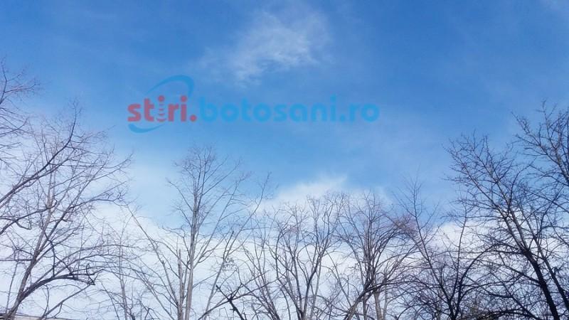 Botoşani: Vreme de primăvară veritabilă în următoarele zile