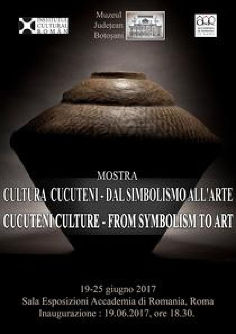 """Botoșanii în lume: Expoziția """"Cultura Cucuteni - de la simbolism la artă"""", vernisată la Roma!"""