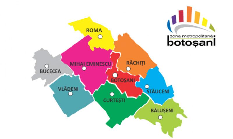 Botoșaniul are Zonă Metropolitană. Botoșănenii din nouă localități se pot deplasa fără adeverințe