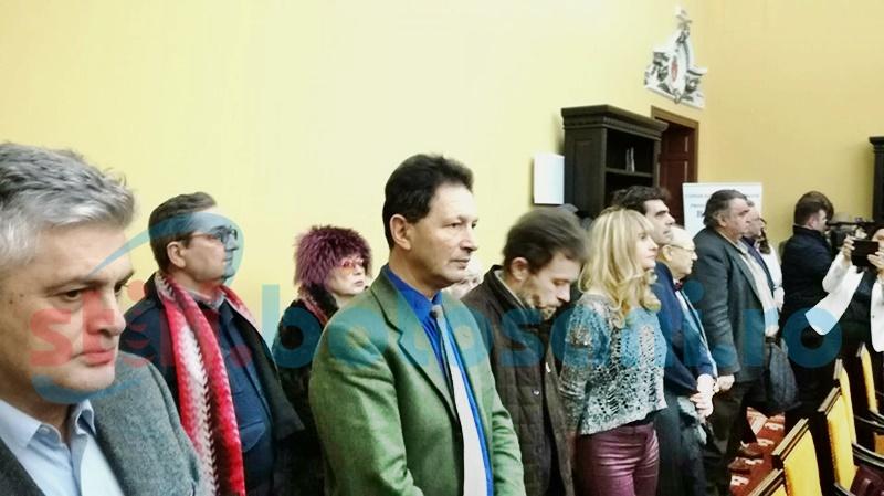 Botoșaniul este pentru o zi Capitala Culturală a României. Zeci de oameni de cultură, prezenți la Zilele Eminescu - FOTO