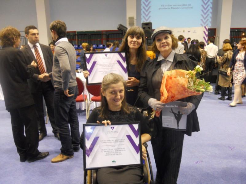 Botosaniul, premiat și aplaudat la Gala Națională a Proiectelor de Voluntariat, Editia 2013