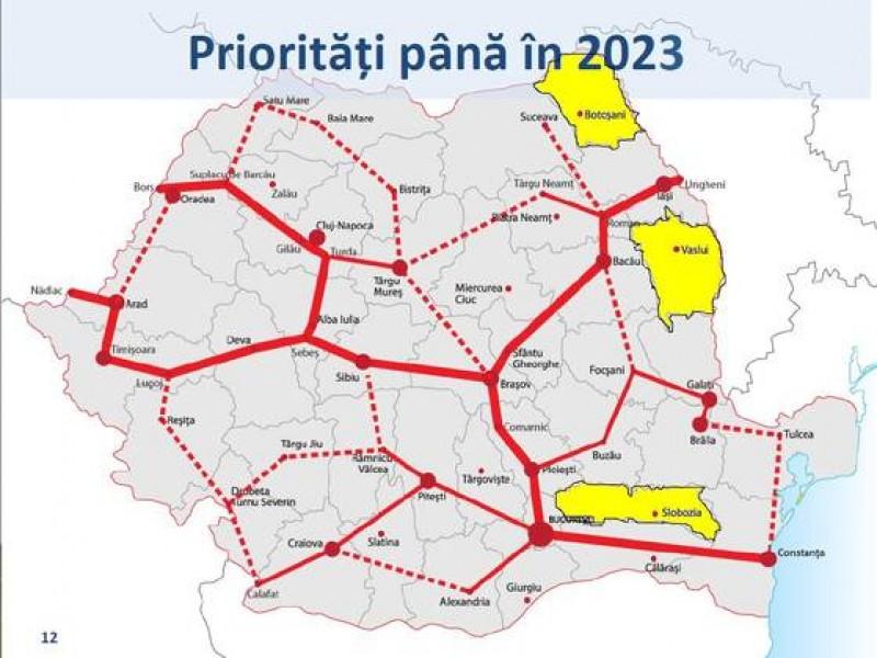 Botosaniul Tăiat De Pe Harta Autostrăzilor Din Romania știri