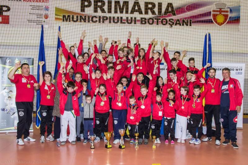 Brilliant Taekwondo SC a obtinut LOCUL 2 la Campionatul National de Juniori! Vezi rezultatele complete!
