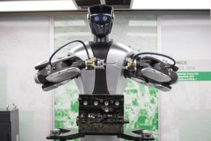 Britanicii vor sa inlocuiasca muncitorii din agricultura, inclusiv romanii, cu roboti