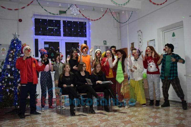 Bucuria de a dărui bucurie! Copiii din centrele Protecţiei Copilului simt că vin Sărbătorile! FOTO