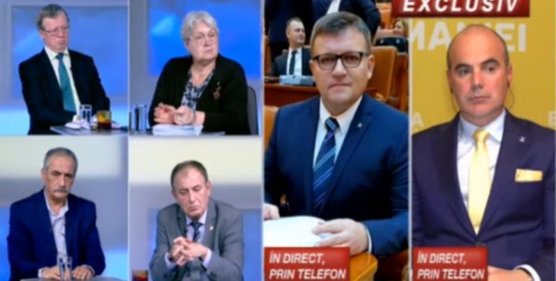 """Budăi, PROVOCARE pentru Rareș Bogdan. Schimb de replici, în direct: """"S-a răsturnat căruța cu proști"""""""