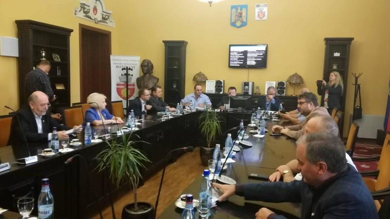 Buget rectificat la Primăria Botoșani cu bani primiți pentru un proiect