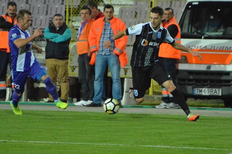 Burlacu a marcat din nou si a ajuns la 4 goluri reusite in acest sezon al Ligii 1