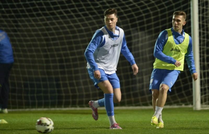 Burlacu si Dumitras pe teren in ultimul amical al celor de la CSU Craiova! VIDEO