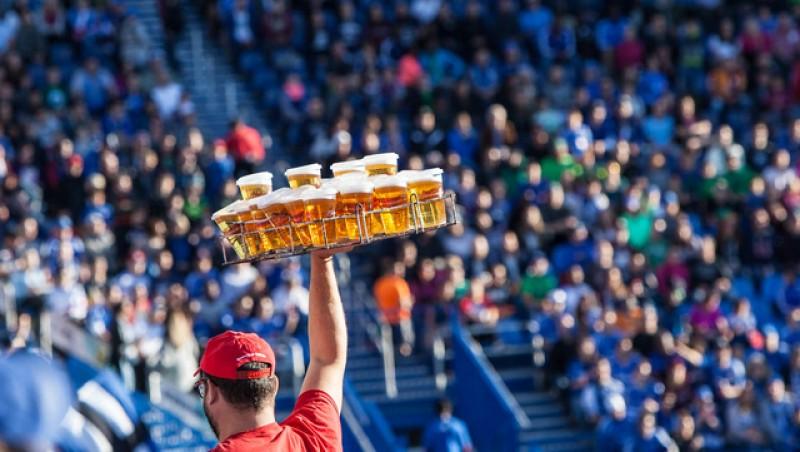 Ca în Uniunea Europeană: FRF vrea să permită consumul de bere pe stadioanele din România