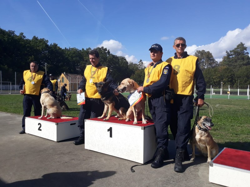 Câinele de serviciu Nona, la un pas de podium