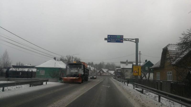 Călătorești azi? Vezi cum se circulă pe drumurile naționale din Moldova