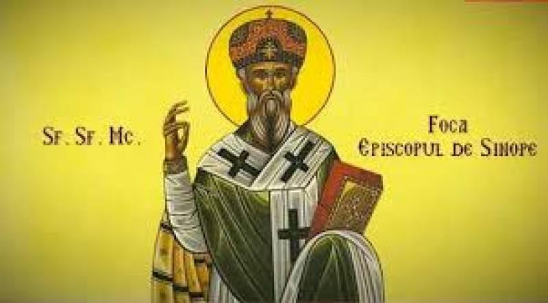 Calendar Ortodox: 22 septembrie, Sfântul Mucenic Foca, făcătorul de minuni