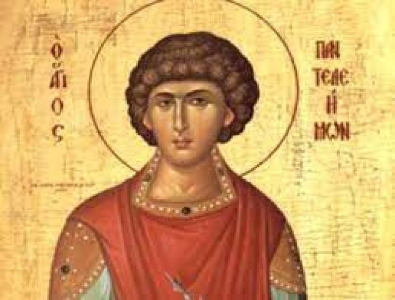 """Calendar Ortodox: 27 iulie, Sfântul Pantelimon, numit și """"doctor fără de arginți"""""""