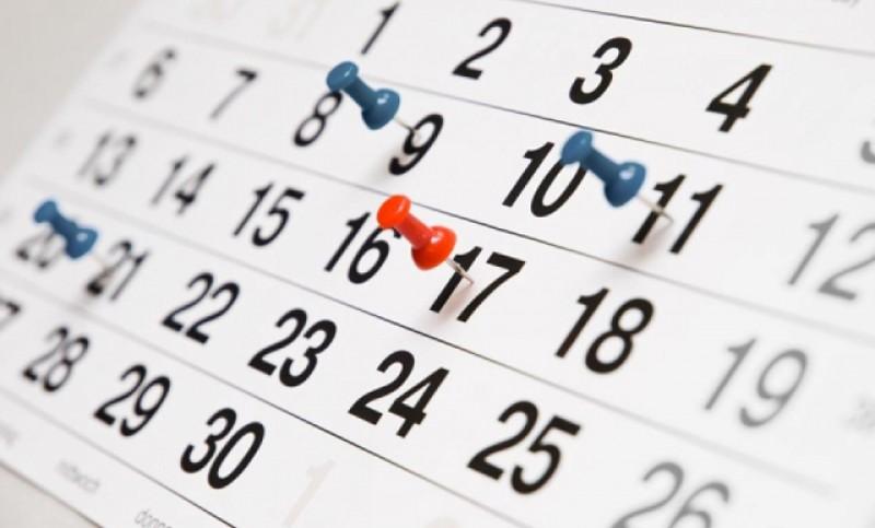 Calendarul zilelor libere acordate de stat în 2020