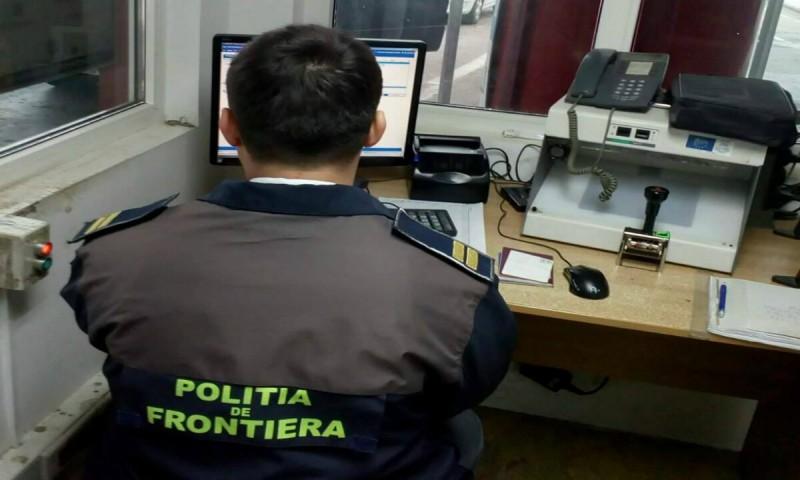 Camioane radiate din circulaţie din Lituania, descoperite de polițiștii de frontieră de la Stânca