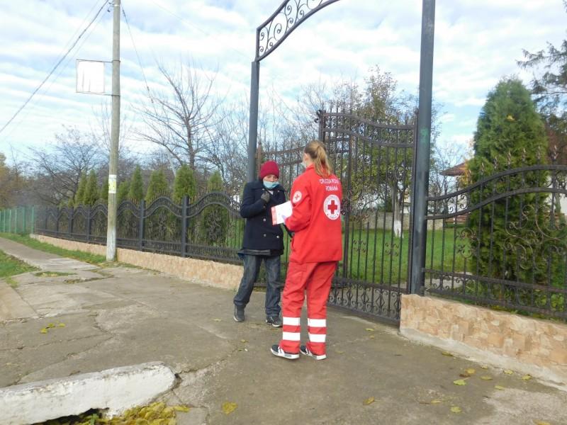 Campania națională demarată de Crucea Roșie România a ajuns și la Botoșani