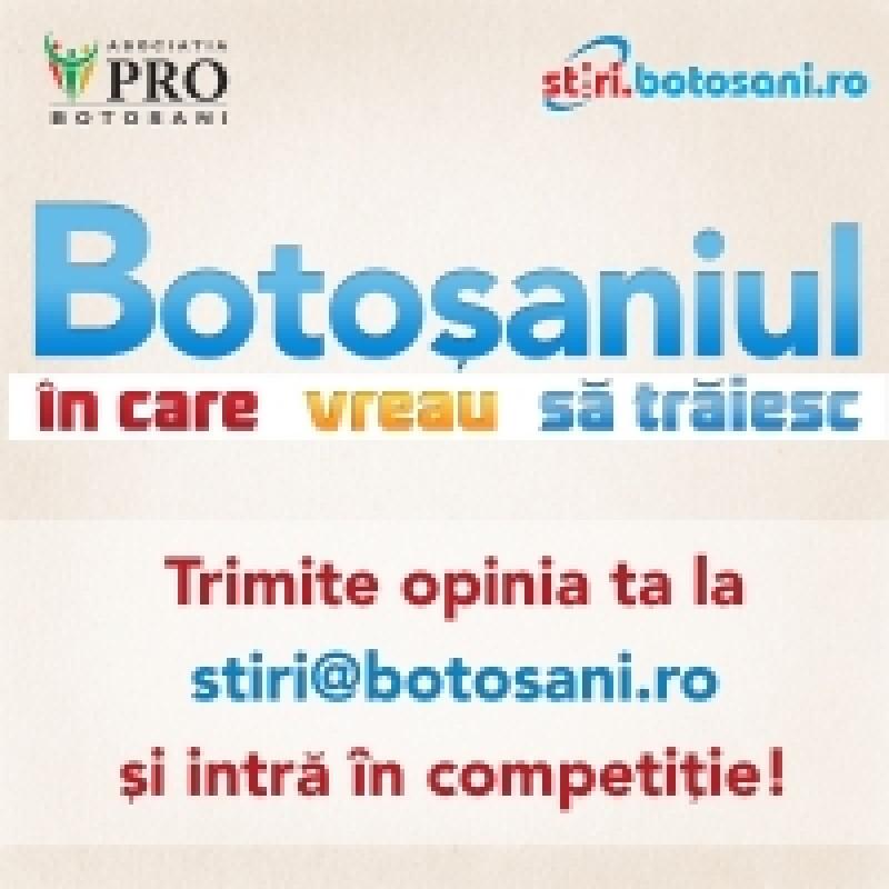 "Campania ""Botosaniul in care vreau sa traiesc"", apreciata de politicieni"