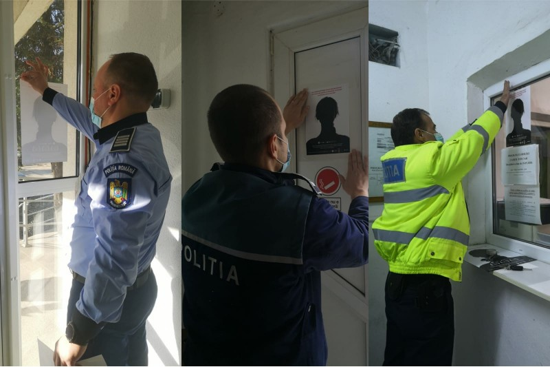 Campanie împotriva violenței domestice, demarată de polițiștii botoșăneni