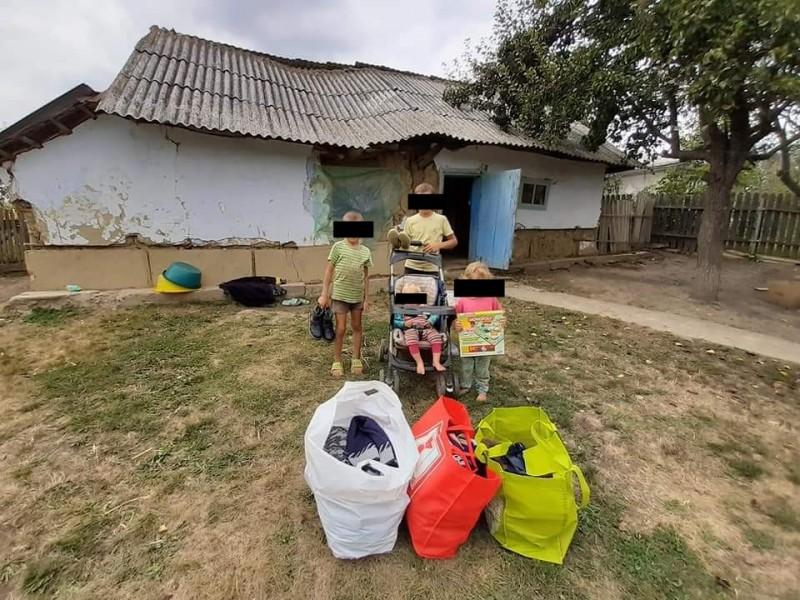 Când bunătatea se propagă: donații oferite de către localnici ai unei comune din Botoșani, pentru consăteni nevoiași