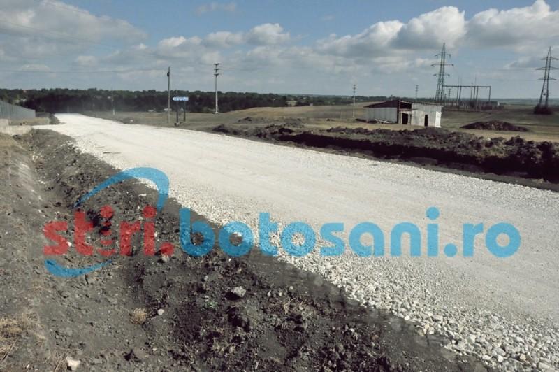 Când vor fi finalizate lucrările de modernizare la drumul de pământ din județul Botoșani!