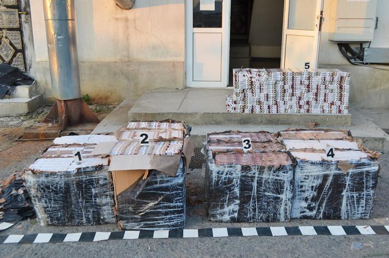 Autoutilitară înmatriculată în Botoşani, plină cu ţigări de contrabandă, descoperită în Ilfov!