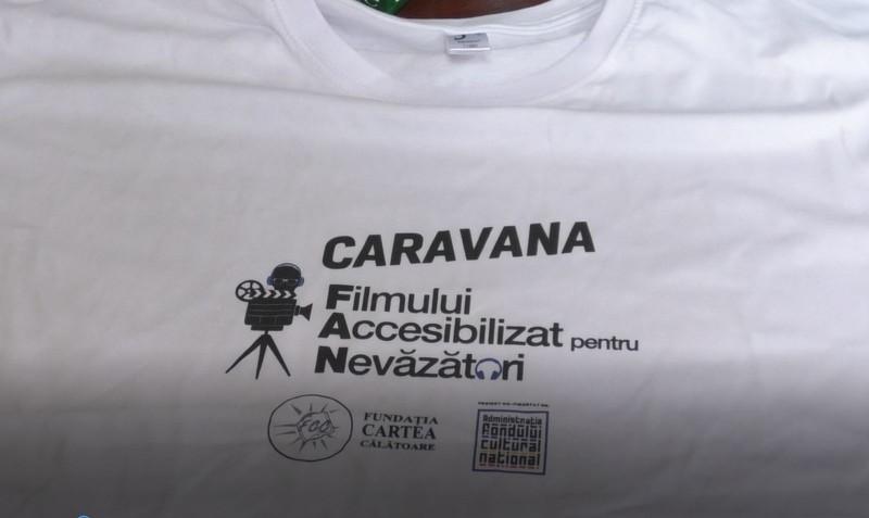 Caravana Filmului Accesibilizat pentru Nevăzători ajunge la Botoșani!