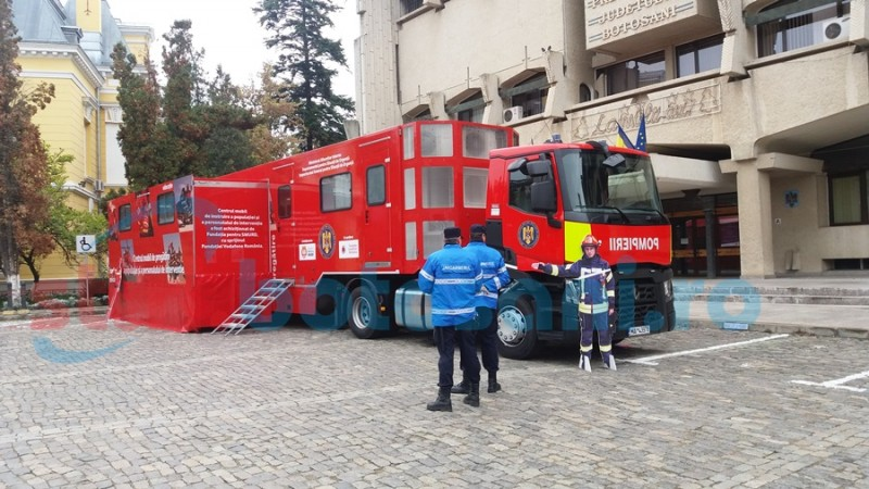 """Caravana SMURD """"Fii Pregătit!"""", pentru a doua oară la Botoșani"""