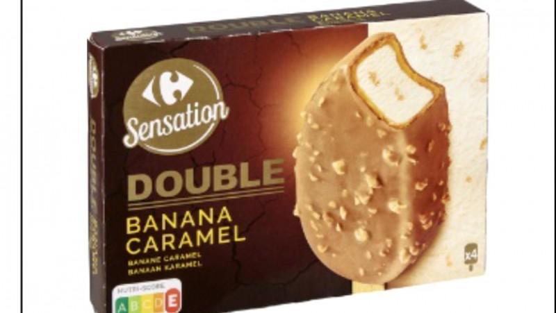 Carrefour retrage mai multe tipuri de înghețată din cauza unui ingredient cancerigen