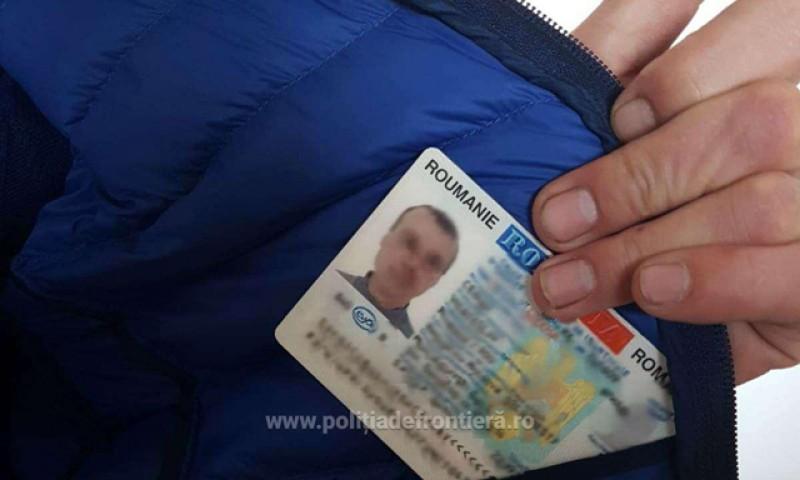 Carte de identitate falsă, descoperită la controlul de frontieră de la Stânca!