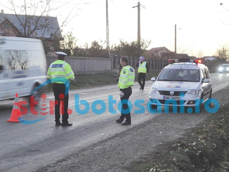 Căruță lovită de o mașină intrată pe contrasens! O femeie a fost rănită!