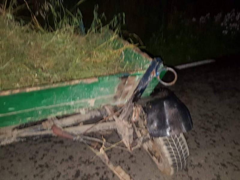 Căruţă spulberată de o maşină în comuna Manoleasa! Un copil a fost rănit!