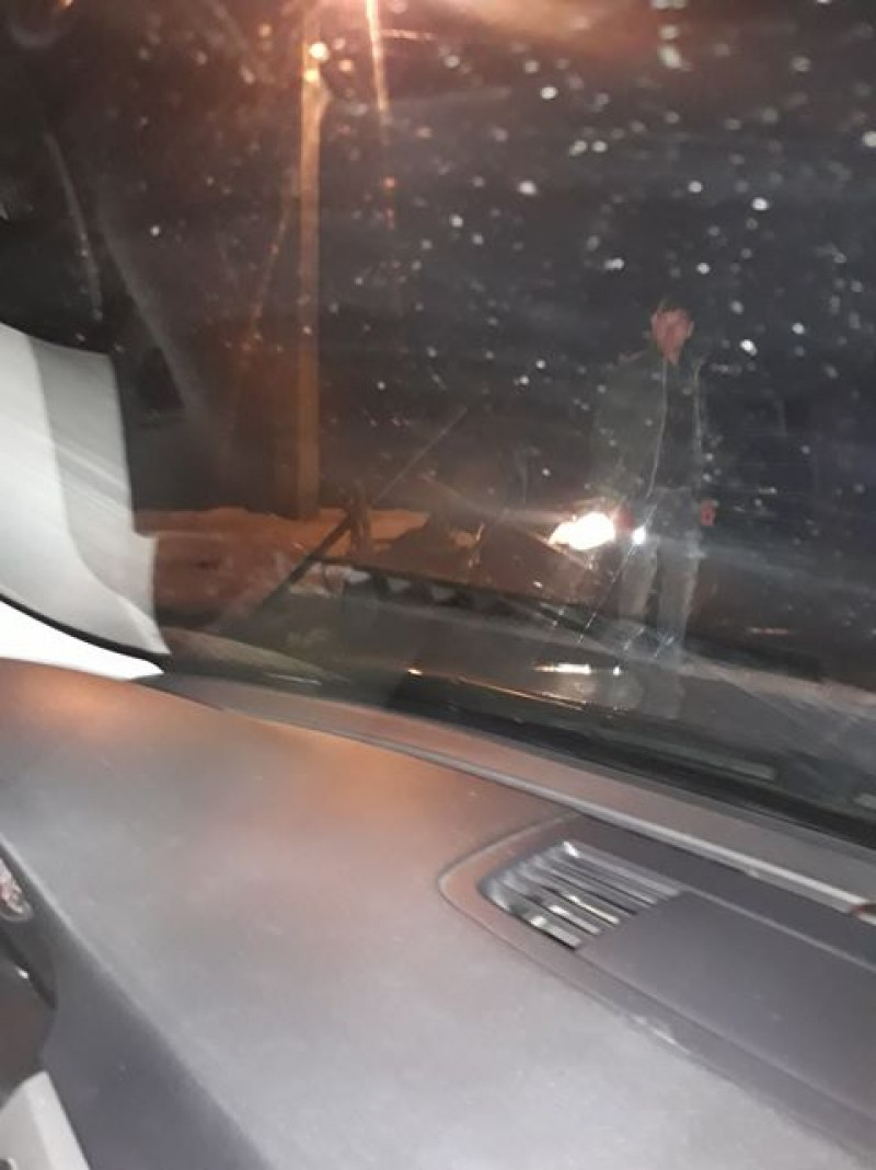 Căruțaș pericol public: Beat și fără vestă reflectorizantă, circula noaptea pe șosea!