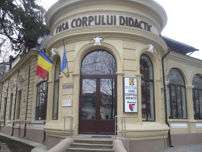 Casa Corpului Didactic din Botoşani continuă formarea cadrelor didactice în mediul on-line