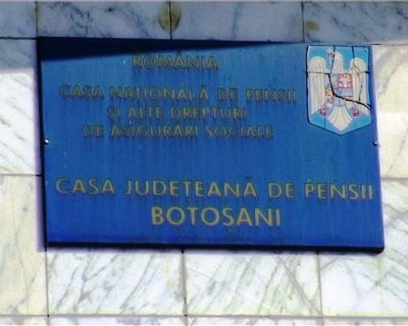 Casa de Pensii Botoșani anunță suspendarea popririlor prin executare până la finele lunii decembrie