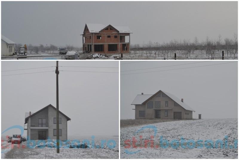 Casa mileniului trei, în judeţul Botoşani: O construieşti acum, dar ai lumină peste zece ani! FOTO