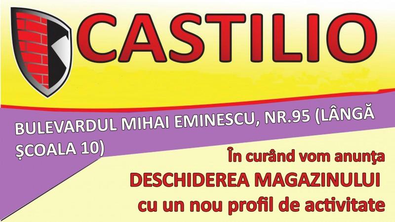 Castilio lichidează toate stocurile de obiecte sanitare şi anunţă REDUCERI la DESCHIDEREA noului MAGAZIN