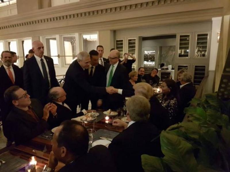 Cât a costat biletul lui Dragnea pentru cina cu Trump!