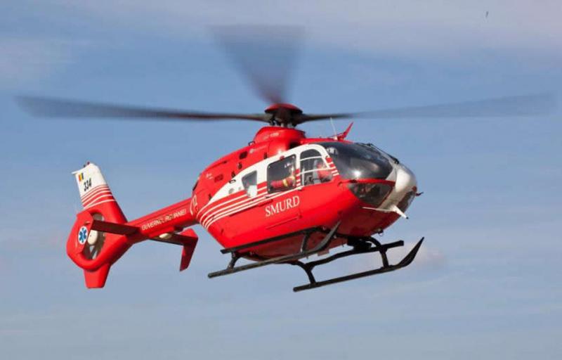 Câtă tristețe: Fetiţa de nouă ani, transportată cu elicopterul la Bucureşti, a murit în spital
