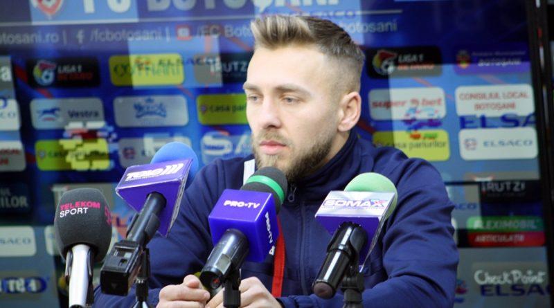 """Cătălin Golofca: """"Vreau să continui cu meciurile bune, să-mi ajut echipa, să marchez"""""""