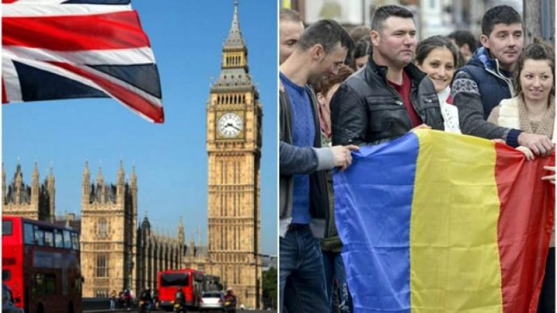 Câți români sunt în Regatul Unit al Marii Britanii? Jumătate de milion de români au aplicat deja pentru statul de rezident iar numărul continuă să crească