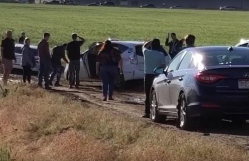 Ce-au pățit 100 de șoferi care au luat-o pe o scurtătură indicată de Google Maps, ca să evite un ambuteiaj VIDEO